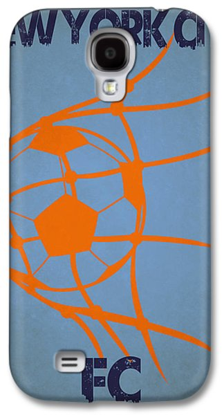 New York City Fc Goal Galaxy S4 Case by Joe Hamilton