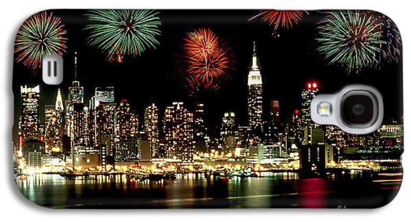 New York City Fourth Of July Galaxy S4 Case by Anthony Sacco