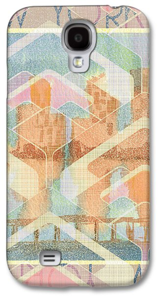 New York City In Pastel Tones - View From Brooklyn Galaxy S4 Case by Beverly Claire Kaiya