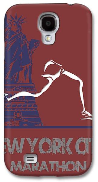 New York City Marathon Galaxy S4 Case by Joe Hamilton