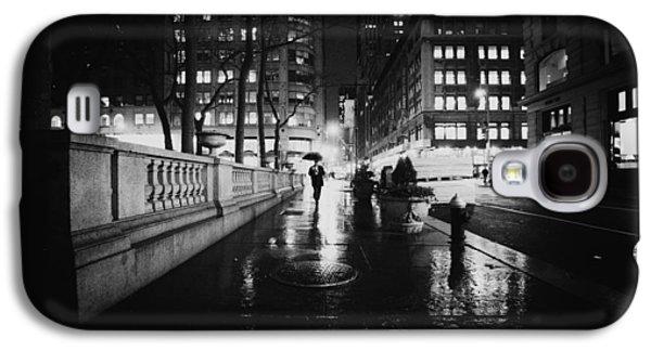 New York City - Night Rain Galaxy S4 Case by Vivienne Gucwa