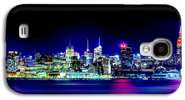 New York City Skyline Galaxy S4 Case by Az Jackson