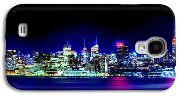 New York City Skyline Galaxy S4 Case by Az Jackson
