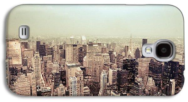 New York City - Skyline On A Hazy Evening Galaxy S4 Case by Vivienne Gucwa