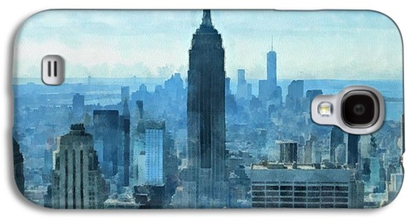 New York City Skyline Summer Day Galaxy S4 Case