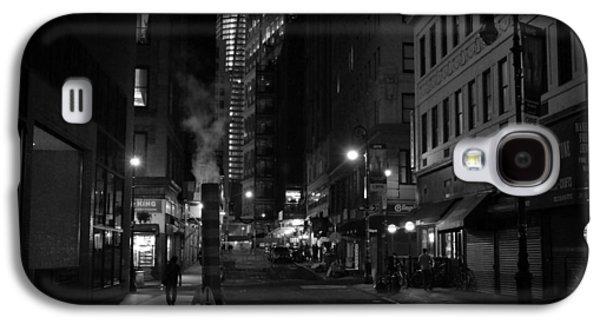 New York City Street - Night Galaxy S4 Case by Vivienne Gucwa