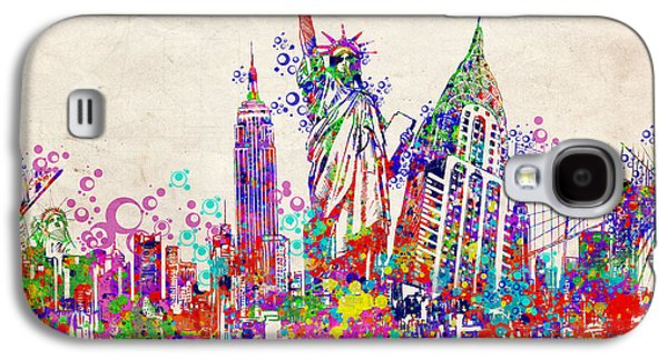 New York City Tribute 2 Galaxy S4 Case