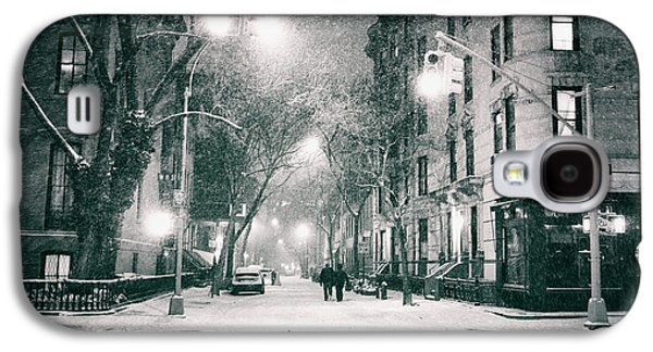 New York City - Winter Night In The West Village Galaxy S4 Case by Vivienne Gucwa