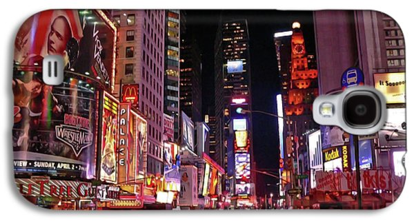 New York New York Galaxy S4 Case by Angela Wright