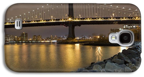 New York Nights Galaxy S4 Case by Leslie Leda