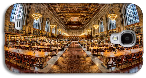 New York Public Library Main Reading Room Vii Galaxy S4 Case