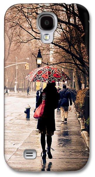 New York Rain - Greenwich Village Galaxy S4 Case by Vivienne Gucwa