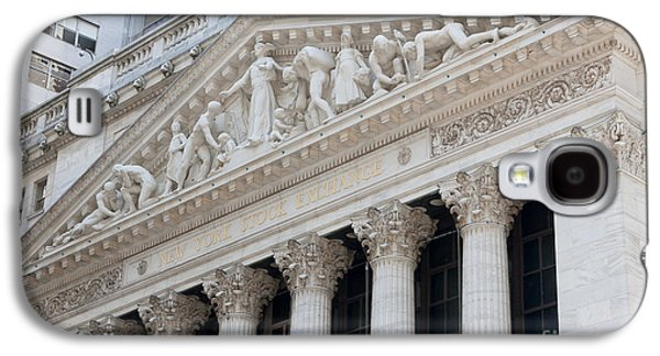 New York Stock Exchange I Galaxy S4 Case by Clarence Holmes