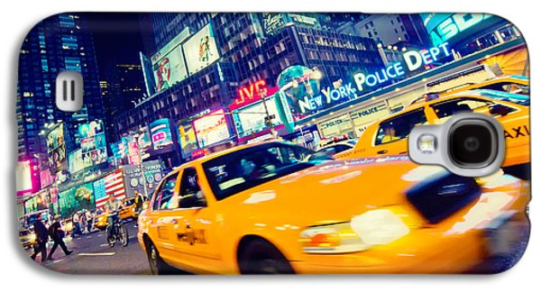 New York - Times Square Galaxy S4 Case by Alexander Voss