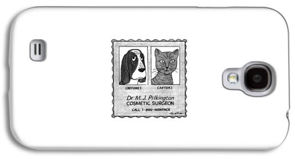New Yorker April 27th, 1992 Galaxy S4 Case by J.B. Handelsman