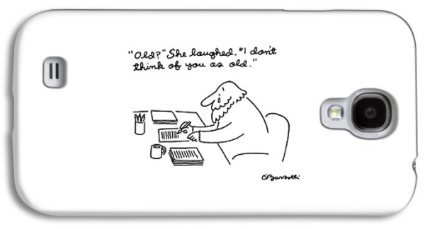 New Yorker April 28th, 1986 Galaxy S4 Case by Charles Barsotti