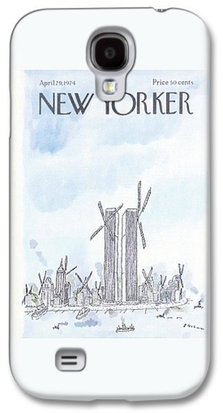 New Yorker April 29th, 1974 Galaxy S4 Case