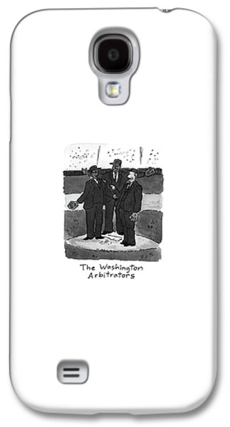 New Yorker April 5th, 1993 Galaxy S4 Case by Danny Shanahan
