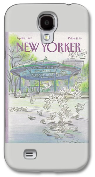 New Yorker April 6th, 1987 Galaxy S4 Case
