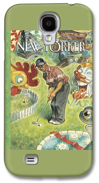 New Yorker August 21st, 2000 Galaxy S4 Case