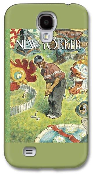 New Yorker August 21st, 2000 Galaxy S4 Case by Peter de Seve