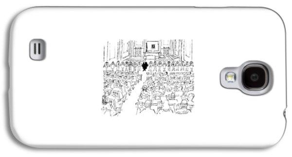 New Yorker August 24th, 1987 Galaxy S4 Case by Mischa Richter
