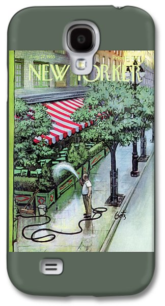 New Yorker August 27th, 1955 Galaxy S4 Case