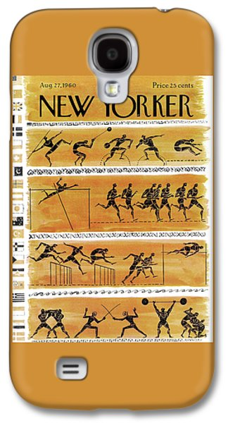 New Yorker August 27th, 1960 Galaxy S4 Case