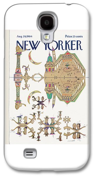New Yorker August 29th, 1964 Galaxy S4 Case