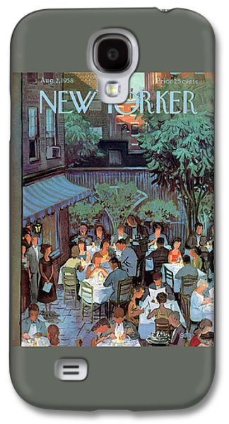 New Yorker August 2nd, 1958 Galaxy S4 Case