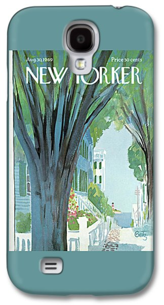 New Yorker August 30th, 1969 Galaxy S4 Case