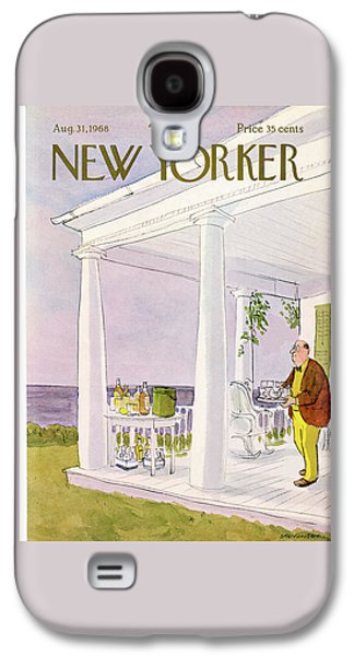 New Yorker August 31st, 1968 Galaxy S4 Case