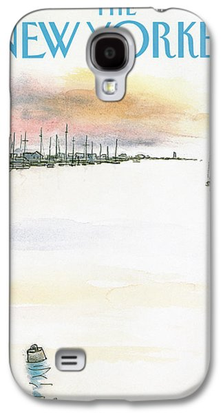 New Yorker August 5th, 1985 Galaxy S4 Case by Arthur Getz
