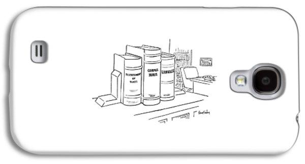 New Yorker December 16th, 1974 Galaxy S4 Case by Dana Fradon