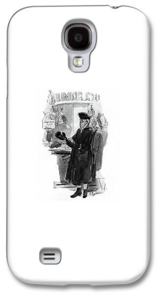 New Yorker December 20th, 1941 Galaxy S4 Case