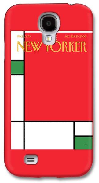 New Yorker December 22nd, 2008 Galaxy S4 Case
