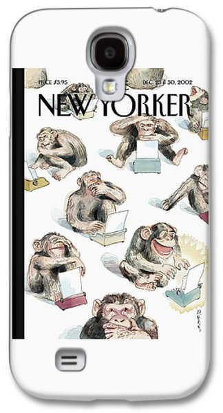New Yorker December 23rd, 2002 Galaxy S4 Case by Barry Blitt
