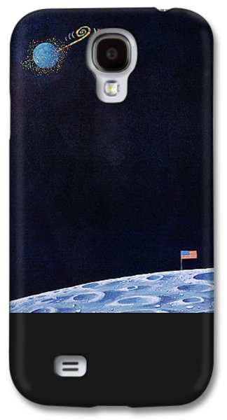 New Yorker December 30th, 1972 Galaxy S4 Case by Charles E. Martin