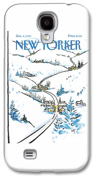 New Yorker December 8th, 1986 Galaxy S4 Case