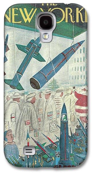 New Yorker December 9th, 1961 Galaxy S4 Case by Anatol Kovarsky