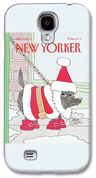 New Yorker December 9th, 1991 Galaxy S4 Case