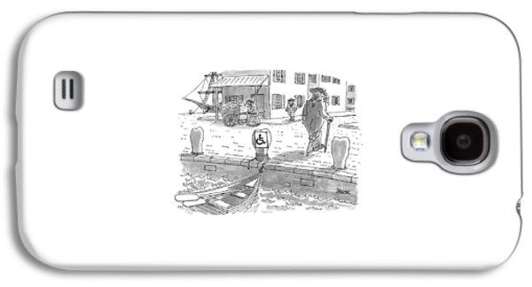 New Yorker February 10th, 1997 Galaxy S4 Case by Jack Ziegler