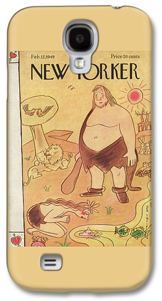 New Yorker February 12th, 1949 Galaxy S4 Case by Rea Irvin