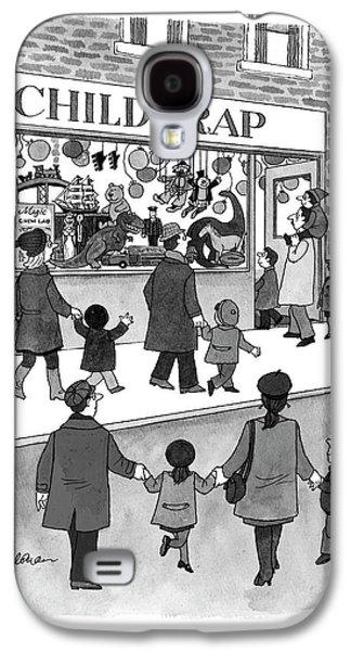 New Yorker February 17th, 1997 Galaxy S4 Case by J.B. Handelsman