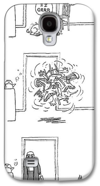 New Yorker February 23rd, 1987 Galaxy S4 Case by George Booth