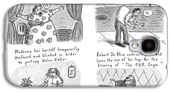 New Yorker February 23rd, 1998 Galaxy S4 Case by Roz Chast