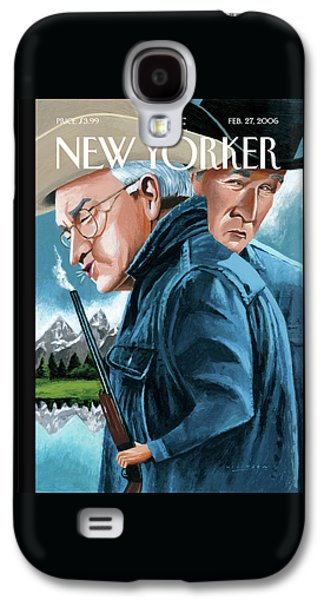 New Yorker February 27th, 2006 Galaxy S4 Case by Mark Ulriksen