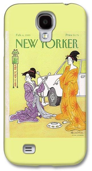 New Yorker February 6th, 1989 Galaxy S4 Case by J.B. Handelsman
