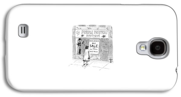 New Yorker February 9th, 1998 Galaxy S4 Case by Roz Chast