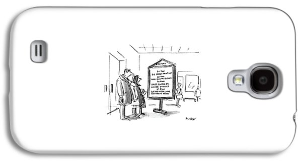 New Yorker January 10th, 1983 Galaxy S4 Case